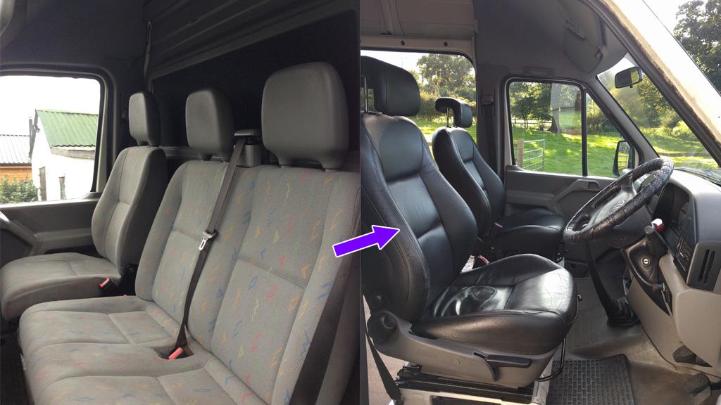 Fitting Swivelling Saab Seats To The Van